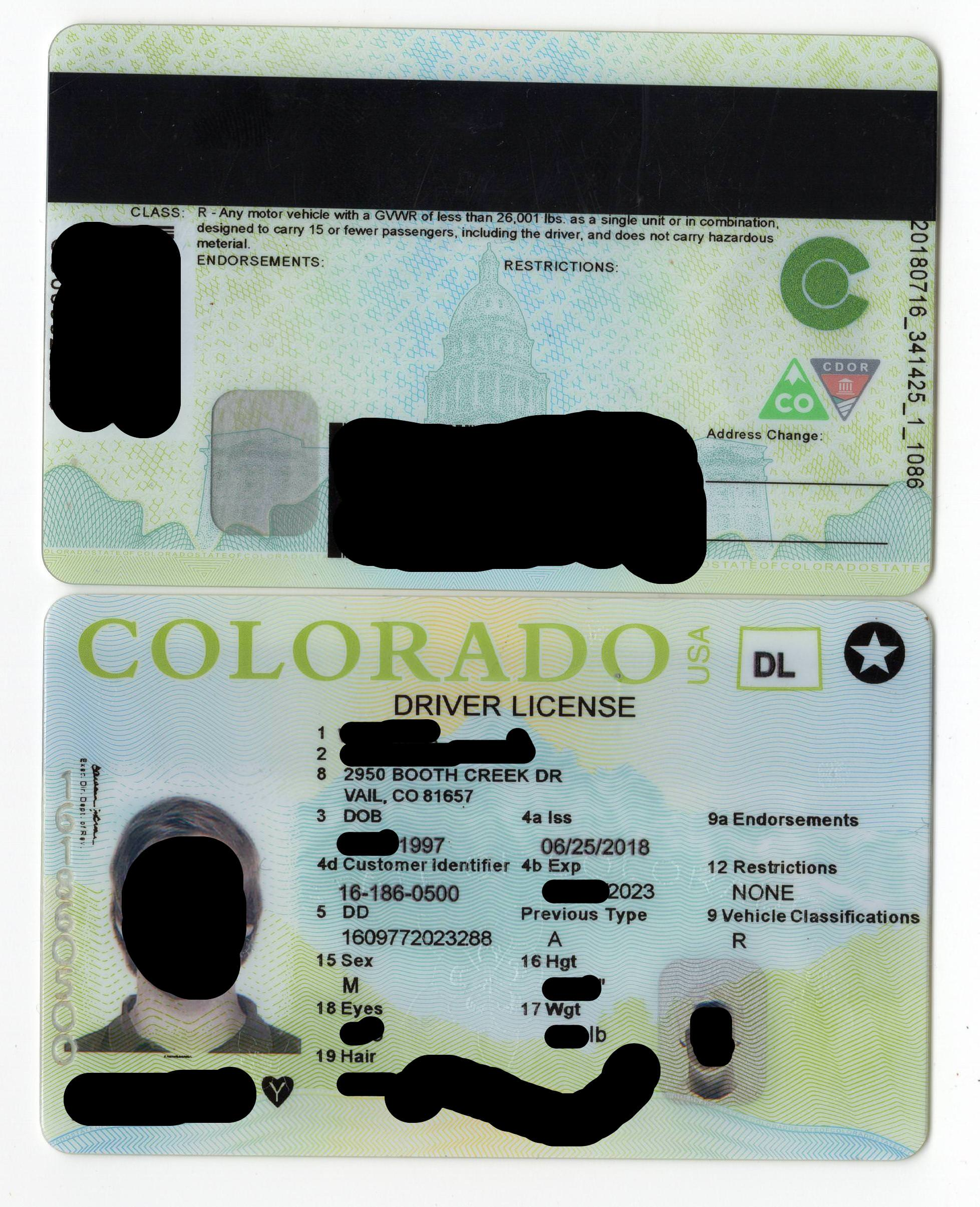 colorado fake id