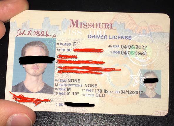missouri fake id